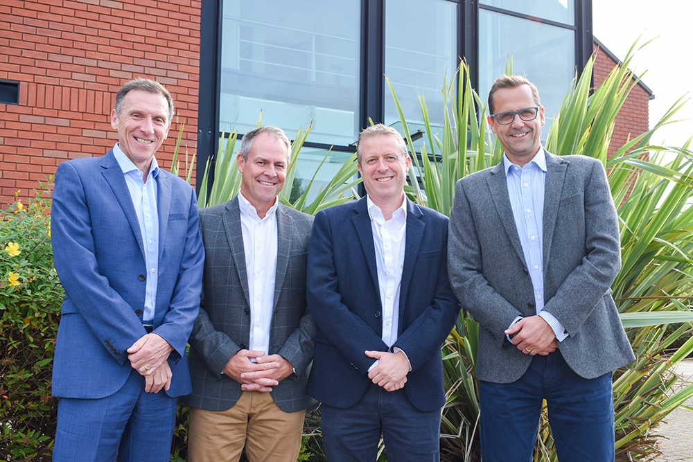 PHD Industrial Holdings James Dow, Craig Richardson, Philip Price, Andy Dodd